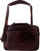 View ZINT 14 inch Laptop Messenger Bag(Brown) Laptop Accessories Price Online(ZINT)