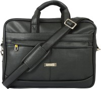 View Compass 15.6 inch Laptop Messenger Bag(Black) Laptop Accessories Price Online(Compass)