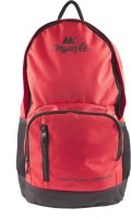 View Myarte 18 inch Laptop Backpack(Red, Black) Laptop Accessories Price Online(Myarte)