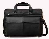 View Yours Luggage 15 inch Laptop Messenger Bag(Black) Laptop Accessories Price Online(Yours Luggage)