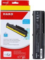 View Hako HP Compaq Presario CQ40-636TX 6 Cell Laptop Battery Laptop Accessories Price Online(Hako)