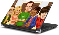 View Rangeele Inkers The Big Bang Theory Caricature Art Work Vinyl Laptop Decal 15.6 Laptop Accessories Price Online(Rangeele Inkers)