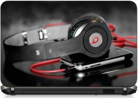 View Print Shapes Headphone with Phone Vinyl Laptop Decal 15.6 Laptop Accessories Price Online(Print Shapes)