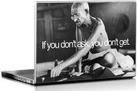 View Seven Rays Gandhiji if you don't Ask Vinyl Laptop Decal 15.6 Laptop Accessories Price Online(Seven Rays)