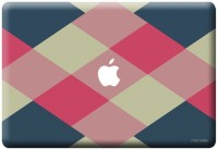 View Macmerise Criss Cross Tealpink - Skin for Macbook 13