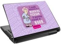 View Tashan Street Morning Person Laptop Skin Vinyl Laptop Decal 15.6 Laptop Accessories Price Online(Tashan Street)