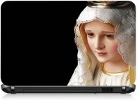 View VI Collections Mother Mary PRINTED VINYL Laptop Decal 15.6 Laptop Accessories Price Online(VI Collections)