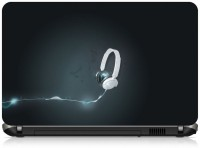 Box 18 Headphones Abstract 2085 Vinyl Laptop Decal 15.6