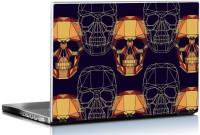 View Seven Rays Geometric Skull Art Vinyl Laptop Decal 15.6 Laptop Accessories Price Online(Seven Rays)