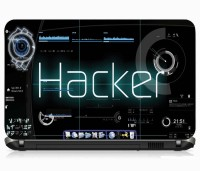 View VI Collections HACKING IMPORTED VINYL Laptop Decal 15.5 Laptop Accessories Price Online(VI Collections)