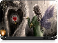 VI Collections ANIMATED ANGELS HEART IN CAGE PVC (Polyvinyl Chloride) Laptop Decal 15.6