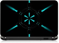 VI Collections SIX POINTED LASER PVC (Polyvinyl Chloride) Laptop Decal 15.6