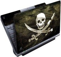 View FineArts Skull On Wood Full Panel Vinyl Laptop Decal 15.6 Laptop Accessories Price Online(FineArts)