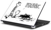 View Rangeele Inkers Calvin And Hobbes On Life Vinyl Laptop Decal 15.6 Laptop Accessories Price Online(Rangeele Inkers)