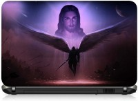 View VI Collections Christ and Devil PRINTED VINYL Laptop Decal 15.6 Laptop Accessories Price Online(VI Collections)