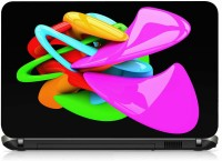 View VI Collections SHINY NEON COLOR SHAPES IMPORTED Laptop Decal 15.6 Laptop Accessories Price Online(VI Collections)