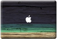 View Macmerise Wood Stripes Blue - Skin for Macbook Pro Retina 13