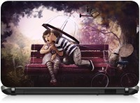 VI Collections BOY KISSING GIRL PVC (Polyvinyl Chloride) Laptop Decal 15.6