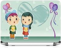 View Print Gallery Love Boy Girl Vinyl Laptop Decal 15.6 Laptop Accessories Price Online(Print Gallery)
