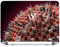 View Print Gallery Chess Pattern Vinyl Laptop Decal 15.6 Laptop Accessories Price Online(Print Gallery)