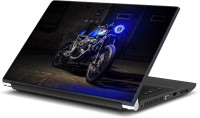 View Rangeele Inkers Honda Bikes Blue Vinyl Laptop Decal 15.6 Laptop Accessories Price Online(Rangeele Inkers)