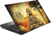 View HIFEX LORD BUDDHA 15.6X10 INCHES VINYL Laptop Decal 15.6 Laptop Accessories Price Online(hifex)