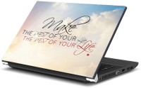 View Dadlace Make The Rest Your Life Vinyl Laptop Decal 13.3 Laptop Accessories Price Online(Dadlace)