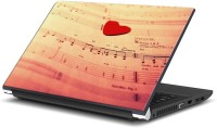 View Rangeele Inkers Music Notes Love Vinyl Laptop Decal 15.6 Laptop Accessories Price Online(Rangeele Inkers)
