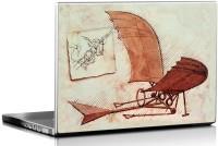 View Seven Rays Flying Machine By Leonardo Da Vinci Vinyl Laptop Decal 15.6 Laptop Accessories Price Online(Seven Rays)