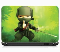 View VI Collections LITTLE NINJA IMPORTED VINYL Laptop Decal 15.5 Laptop Accessories Price Online(VI Collections)