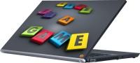 View Dspbazar DSP BAZAR 8857 Vinyl Laptop Decal 15.6 Laptop Accessories Price Online(DSPBAZAR)