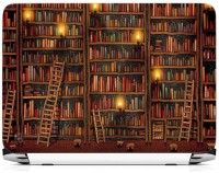 View Print Gallery Library Pattern Vinyl Laptop Decal 15.6 Laptop Accessories Price Online(Print Gallery)
