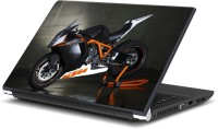 View Rangeele Inkers Ktm Stylish Bike Vinyl Laptop Decal 15.6 Laptop Accessories Price Online(Rangeele Inkers)