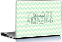 View Seven Rays You Are Ridiculously Amazing Vinyl Laptop Decal 15.6 Laptop Accessories Price Online(Seven Rays)