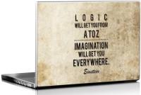 View Seven Rays Einstein Logic Vinyl Laptop Decal 15.6 Laptop Accessories Price Online(Seven Rays)