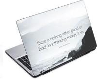 View ezyPRNT William Shakespeare Motivation Quote b (14 to 14.9 inch) Vinyl Laptop Decal 14 Laptop Accessories Price Online(ezyPRNT)