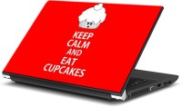 View ezyPRNT Keep Calm and Eat Cupcakes (14 to 14.9 inch) Vinyl Laptop Decal 14 Laptop Accessories Price Online(ezyPRNT)