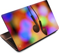 View Finest Earphone Color Back Vinyl Laptop Decal 15.6 Laptop Accessories Price Online(Finest)