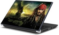 Artifa Johnny Depp from Pirates of The Caribbean Movie Vinyl Laptop Decal 15.6