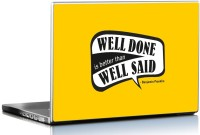 View Seven Rays Rays Well Done is Better than Well Said by Benjamin Franklin Skin Vinyl Laptop Decal 15.6 Laptop Accessories Price Online(Seven Rays)