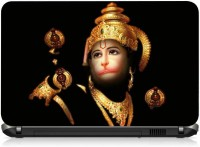 VI Collections Lord Hanuman PRINTED VINYL Laptop Decal 15.6