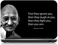 View Ng Stunners Quotes Of Gandhijee Republicday Vinyl Laptop Decal 15.6 Laptop Accessories Price Online(Ng Stunners)