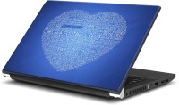 View Rangeele Inkers Chelsea Fc Love Vinyl Laptop Decal 15.6 Laptop Accessories Price Online(Rangeele Inkers)