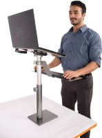 View Fitizen Zendesk 2.0 - Standing Desk - An Ergonomic Height Adjustable Laptop Stand Laptop Accessories Price Online(Fitizen)
