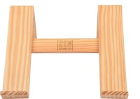View Fitizen ZEN GRID 1.0 (Wood) Laptop Stand Laptop Accessories Price Online(Fitizen)