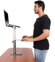 View Fitizen Zendesk Standing Desk - An Ergonomic Height Adjustable Laptop Stand Laptop Accessories Price Online(Fitizen)