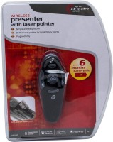View Speed USB Wireless Remote Control Laser Power Point Presenter(425 nm, Red) Laptop Accessories Price Online(Speed)