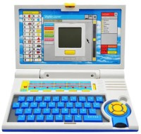 Toyoz Kids English Learner Laptop-BL(Multicolor)