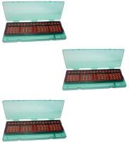 Sae Fashions Sae Brown 17 Rod Abacus Kit With Box(Brown)