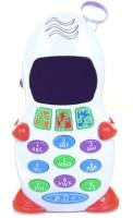 Ken Di Long Aptitude Learner Toys Kids Mobile Telephone Educational Product(White)